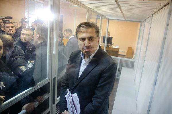 Саакашвили обвинил СБУ иФСБ всвоем аресте 14декабря 2017 17:40