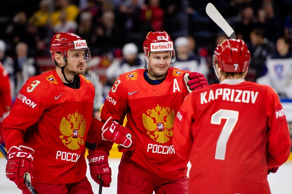 Русские  хоккеисты разгромили австрийцев наЧМ