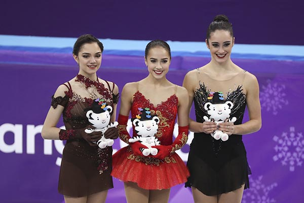 15-летняя фигуристка принесла Российской Федерации первое «золото» наОлимпиаде