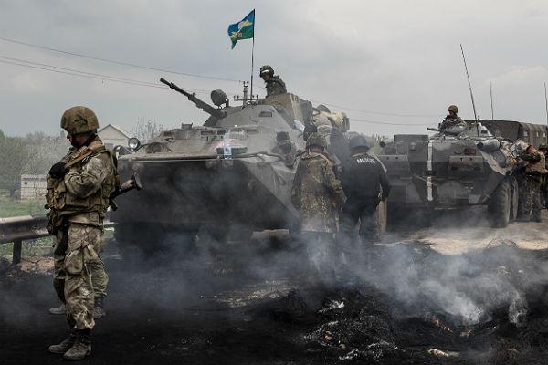 За минувшие сутки трое военнослужащих ВСУ убиты, еще пятеро ранены— Штаб АТО