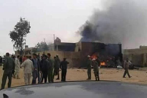 Ливийский самолёт разбился навостоке страны