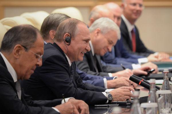 Путин назвал «скромными» усилия РФ  поподдержанию экономики