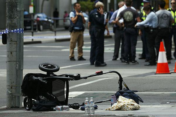 Свидетели трагедии вАвстралии: шофёр выкрикивал террористические девизы