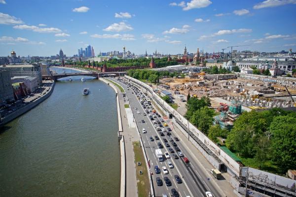 В 2016 году в столице начнутся работы по благоустройству парка «Зарядье»
