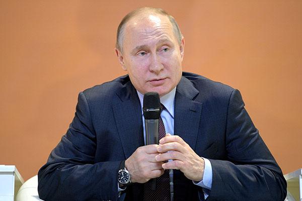 Санкции призваны остановить развитие РФ — Путин