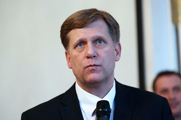 Макфол попросил упослаРФ вСША помощи вснятии визовых санкций