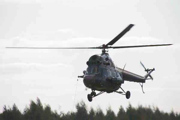 Вертолет «Ми-2» совершил жесткую посадку вХМАО