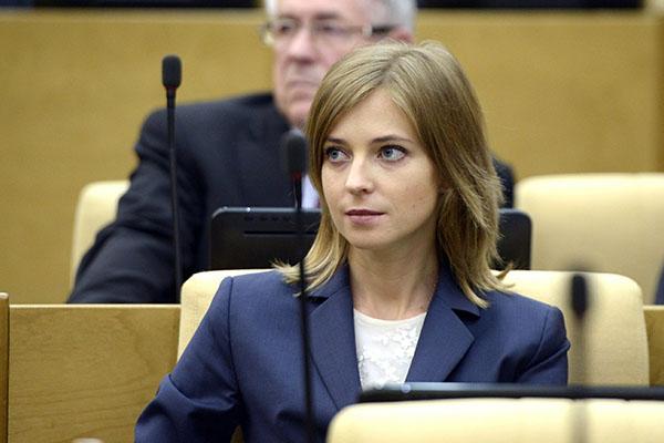 Наталья Поклонская призывает депутатов не плакаться наразмеры ихзарплат