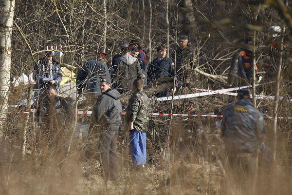 ВПольше нашли тела семи человек вмогиле погибшего под Смоленском генерала