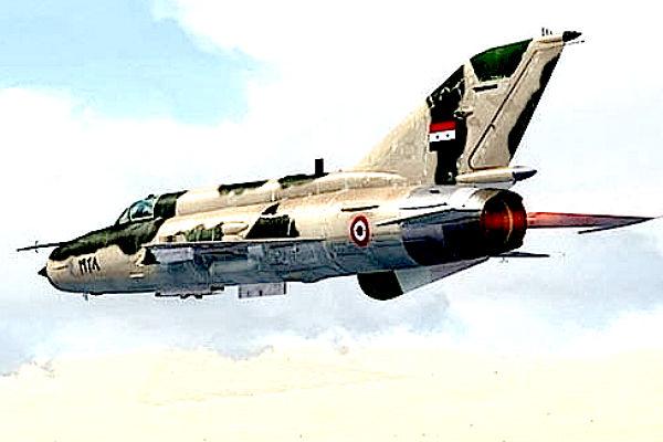 Повстанцы сообщили, что сбили истребитель ВВС Сирии