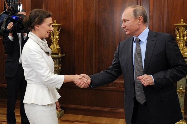 Песков объяснил выбор Кузнецовой напост омбудсмена