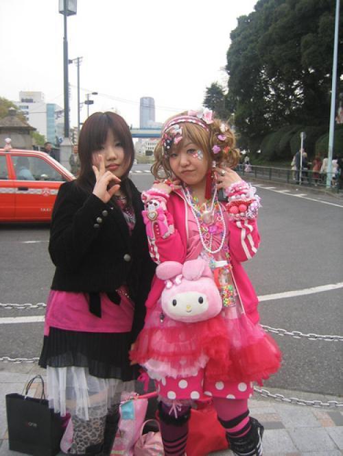 Harajuku - направление в японской молодежной моде. Появился этот