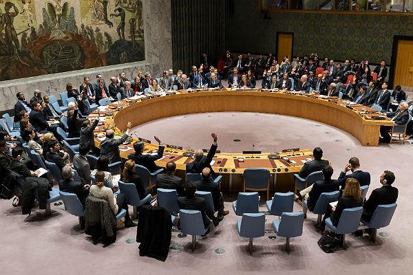Проект резолюцииСБ ООН похиморужию вводит санкции против Сирии