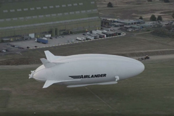Самое огромное воздушное судно вмире впервый раз поднялось ввоздух наБританских островах