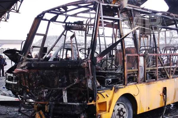 В Донецке обстреляли автостанцию