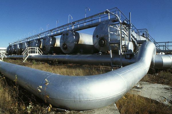 НаТалаканском месторождении вЛенском районе произошел авариный выброс газа