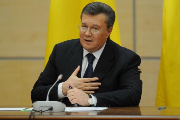 Луценко предъявил Януковичу подозрение вгосизмене