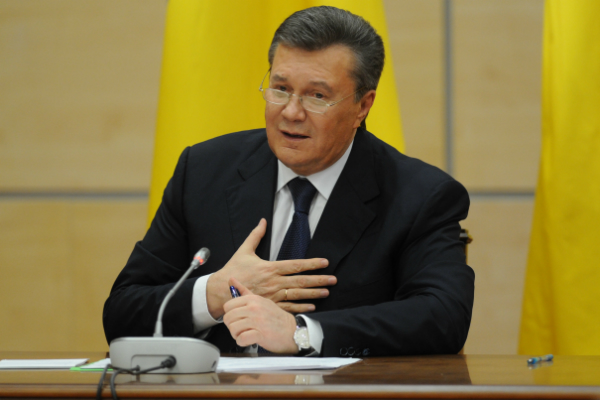 Луценко всуде объявил устное подозрение Януковичу «вгосизмене»