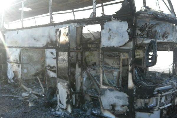 Почему зажегся автобус вКазахстане, поведали выжившие
