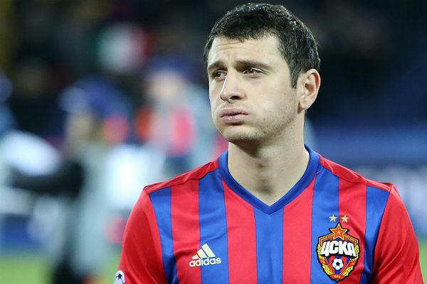 Дзагоев вернулся вобщую группу ЦСКА перед матчем с«Арсеналом»