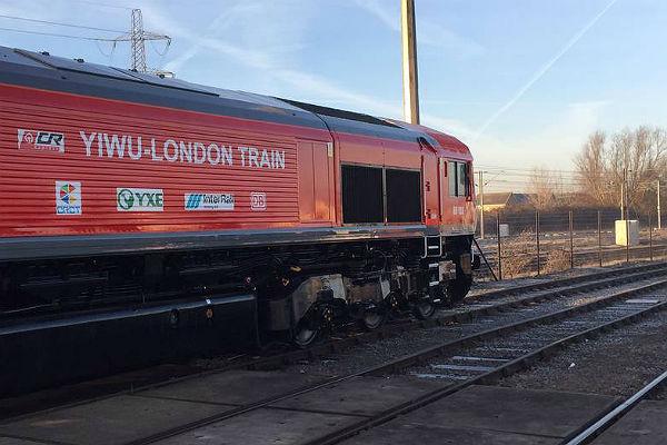 1-ый грузовой поезд изКитая доехал доЛондона