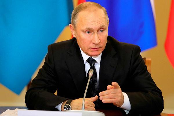 Подписаны документы опрекращении огня вСирии— Путин