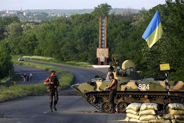 Украина, Донецк, огонь, кровь
