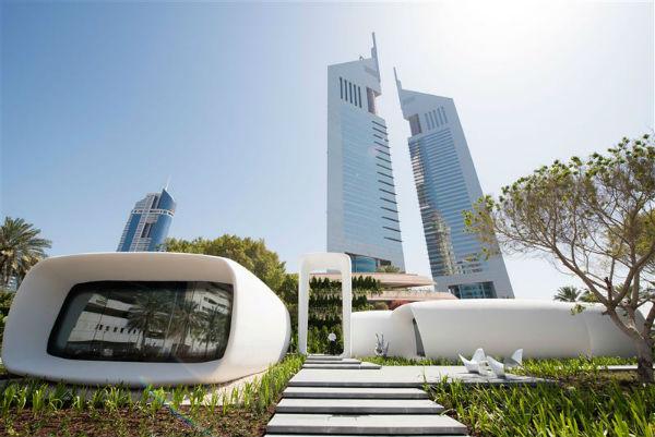 Первое вмире напечатанное на3D принтере здание открылось вДубае