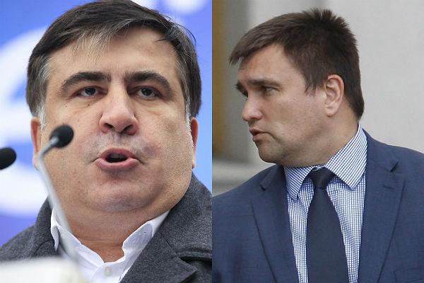 Климкин отреагировал наобвинение Саакашвили вналичии русского  гражданства