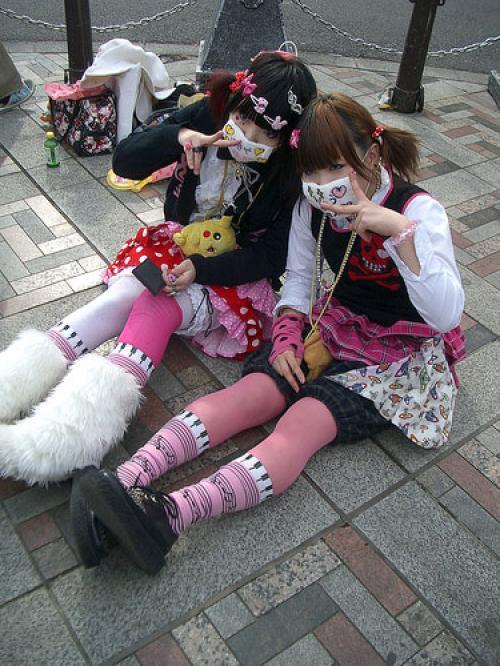 Молодежная мода Японии часть 2. Flash star.