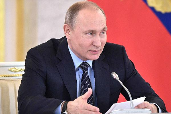 Владимир Путин: Дело Серебренникова— «непреследование, арасследование»