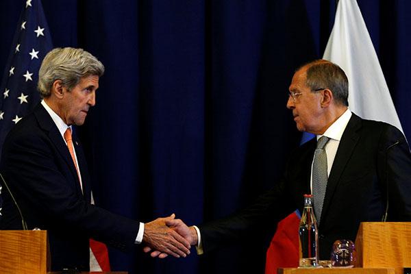 Лавров иКерри объявили оплане поурегулированию конфликта вСирии