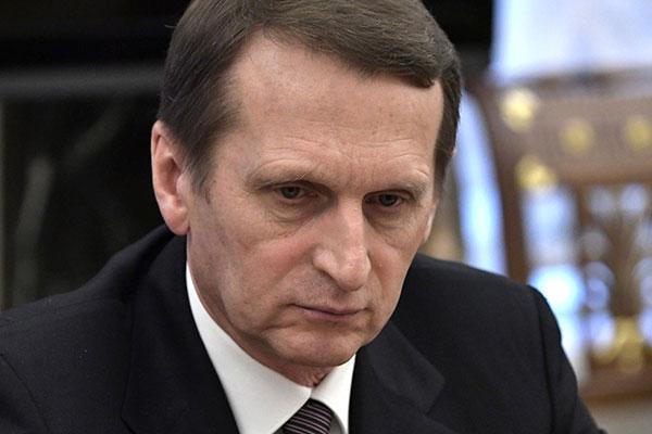 Нарышкин овысылке русских дипломатов: Это грязная ициничная провокация
