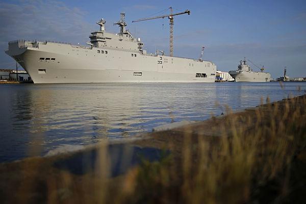 Франция готова вернуть России за «Мистрали» $1,2 млрд Политика.