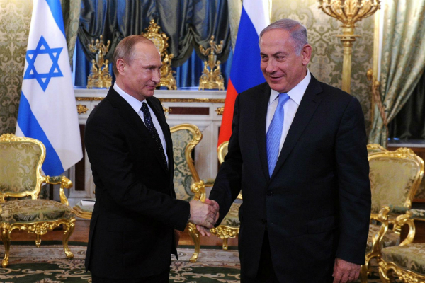 Нетаньяху объявил опостоянных консультациях сПутиным повопросу Сирии