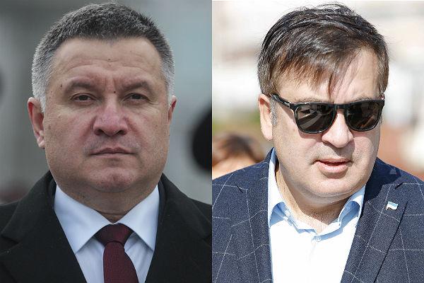 Аваков посоветовал Саакашвили оформиться на границе