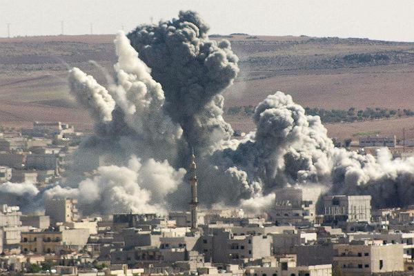 Внебе над Сирией активизировались самолеты коалиции США
