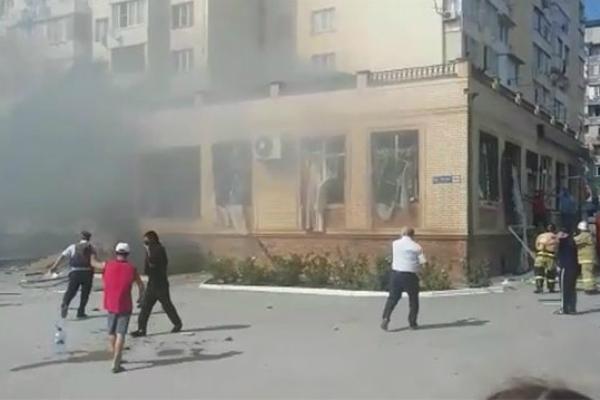 ВМахачкале произошел взрыв вресторане