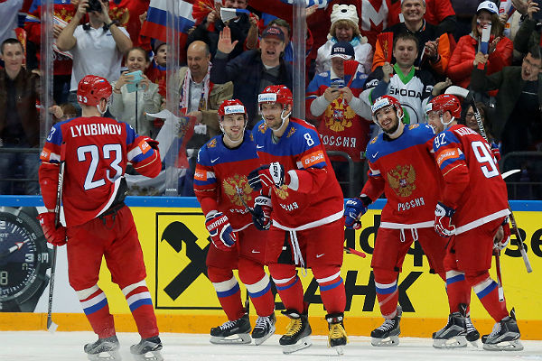 Чемпионат мира похоккею-2016: сборная Российской Федерации одержала победу над Германией