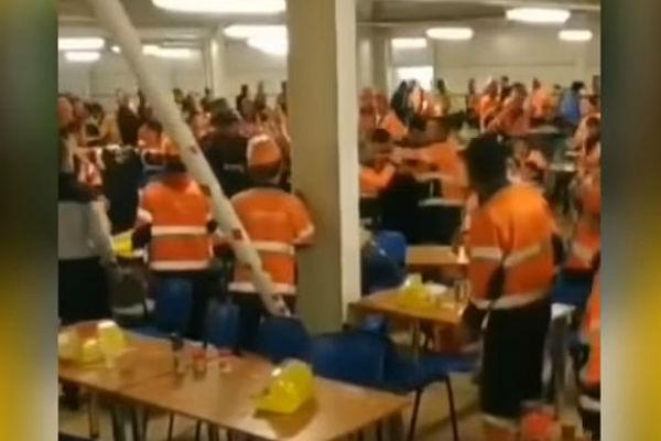 Массовой потасовкой завершился обед встоловой амурского завода