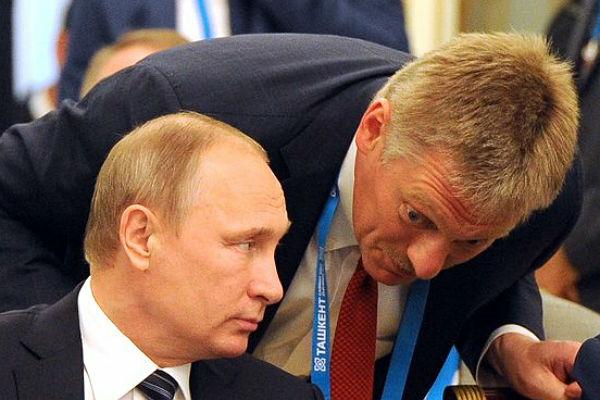 Кремль: Разговора Порошенко и Владимира Путина наповышенных тонах небыло
