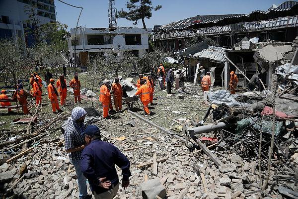 ВКабуле произошел взрыв, есть жертвы