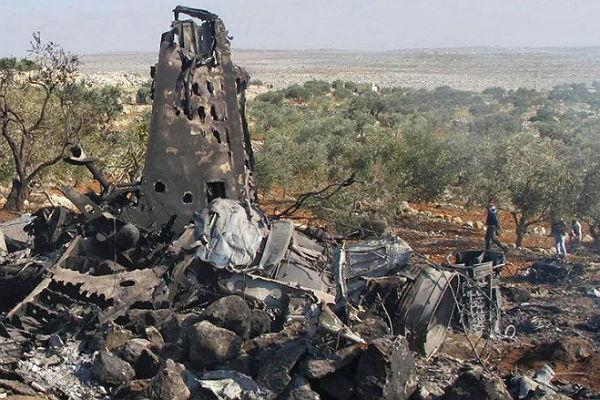 ВСирии вблизи Дамаска упал военный самолет