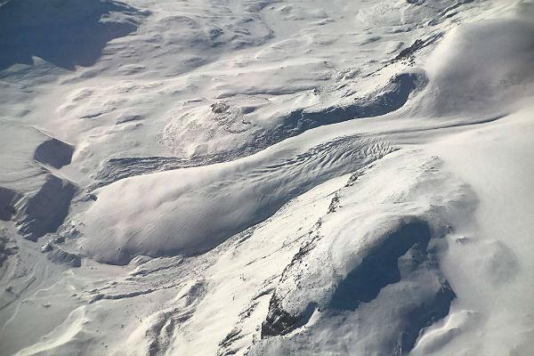 Возникла  трещина вледнике Петермана вГренландии