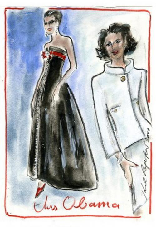 Karl Lagerfeld для Chanel.