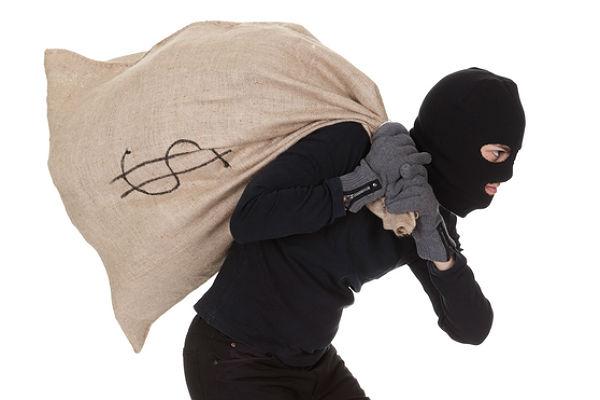 Неизвестный совершил разбойное нападение на кредитное учреждение