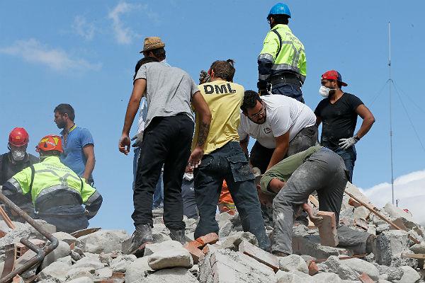 159 погибших— Землетрясение вИталии