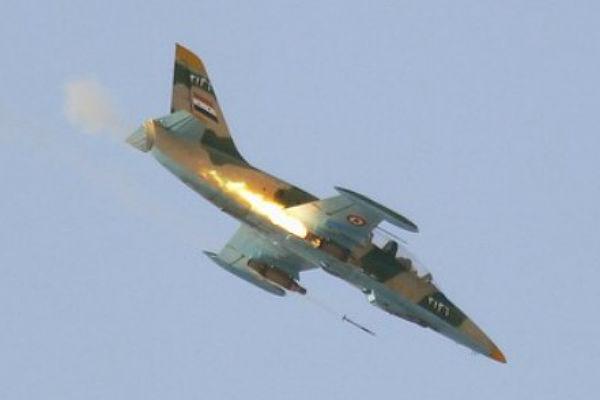 Сирийский военный самолет разбился севернее Дамаска 21сентября 2016 13:30